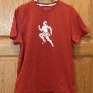 Red Am Eagle Streakers T-Shirt EUC sz L